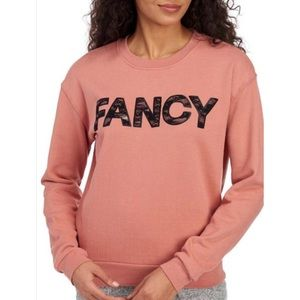 "Betsy Johnson NWT ""Fancy"" sweatshirt size XL"